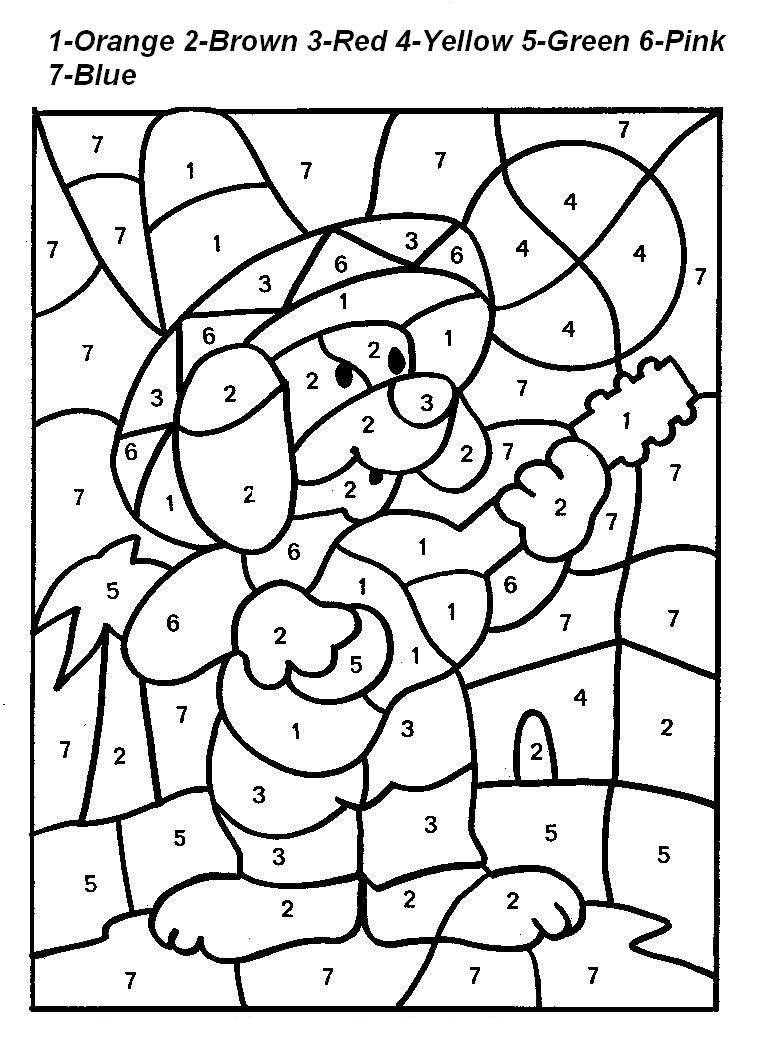 By Numbers Printables Drawing at GetDrawings.com | Free for personal ...