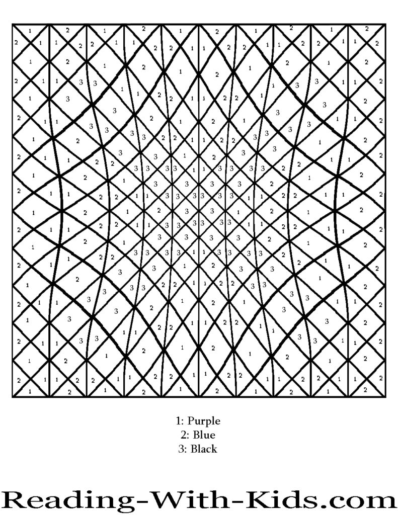 791x1024 Coloring Pages Difficult Color By Number Printables Az