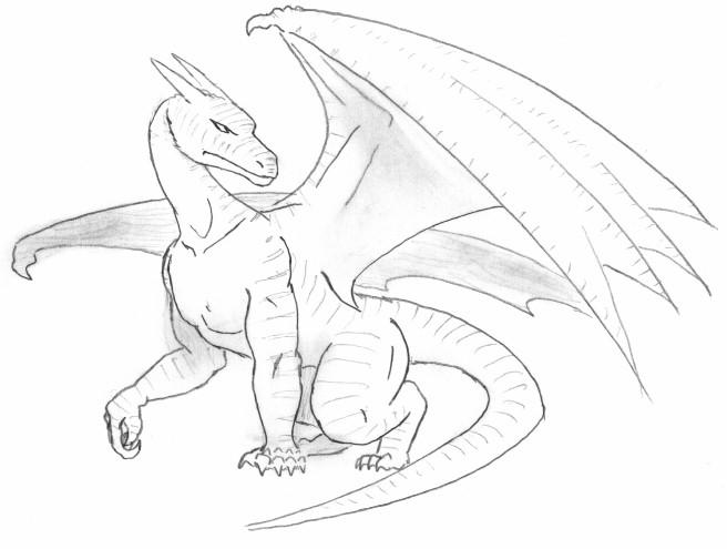 656x495 Dragon Pencil Drawing Vahamur Diesonne By Breathe My Art