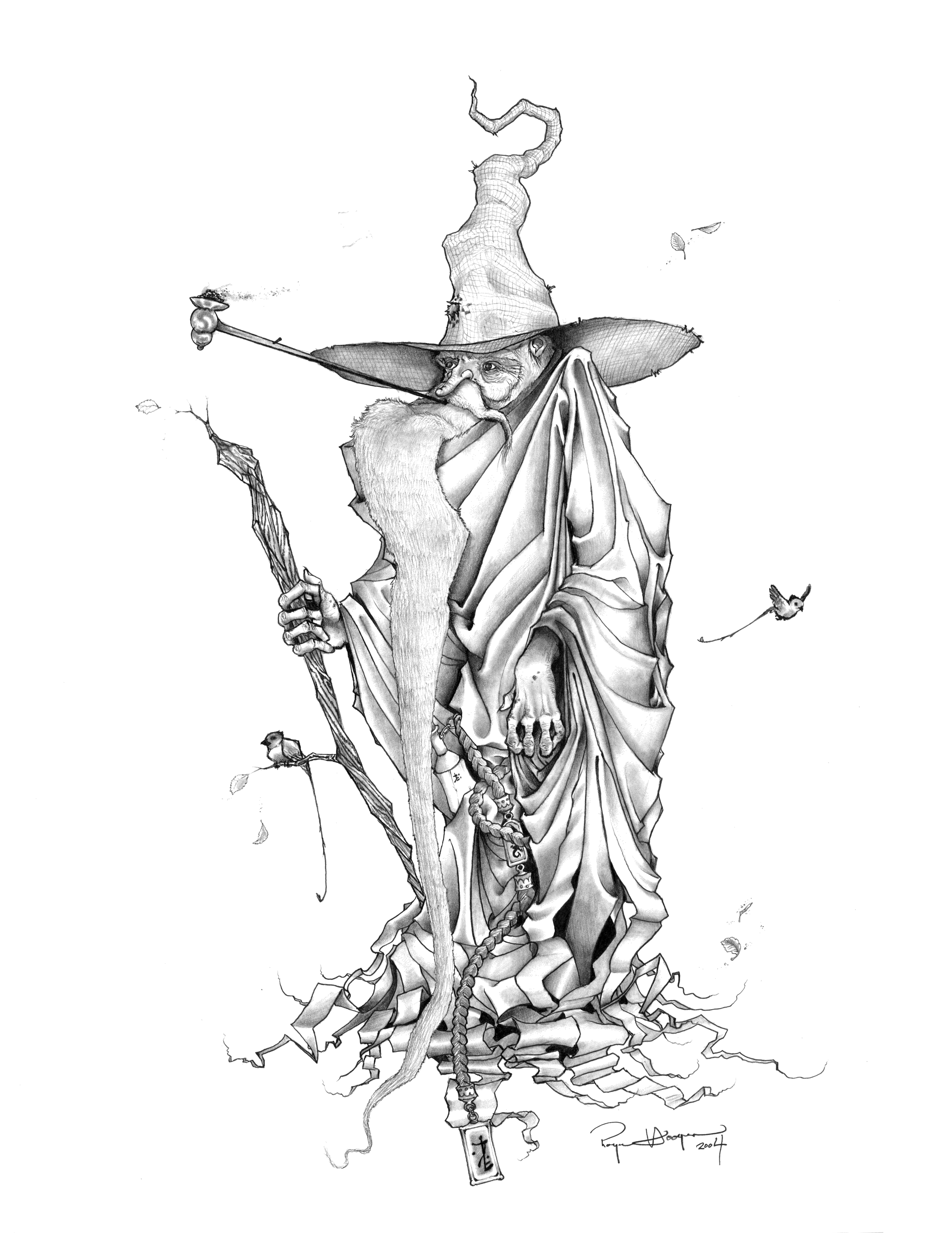 2550x3300 Wizard Drawing Tutorials Dark Wizard Drawings