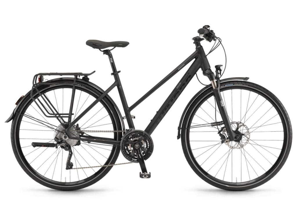 1024x768 Bycicle Oregon Unisex 28'' 30s Black Size 56 2018 Winora Bikes