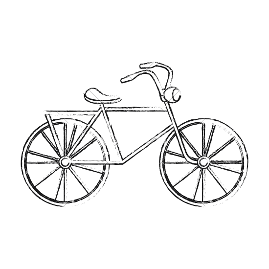 550x550 Bicycle Transport Sketch