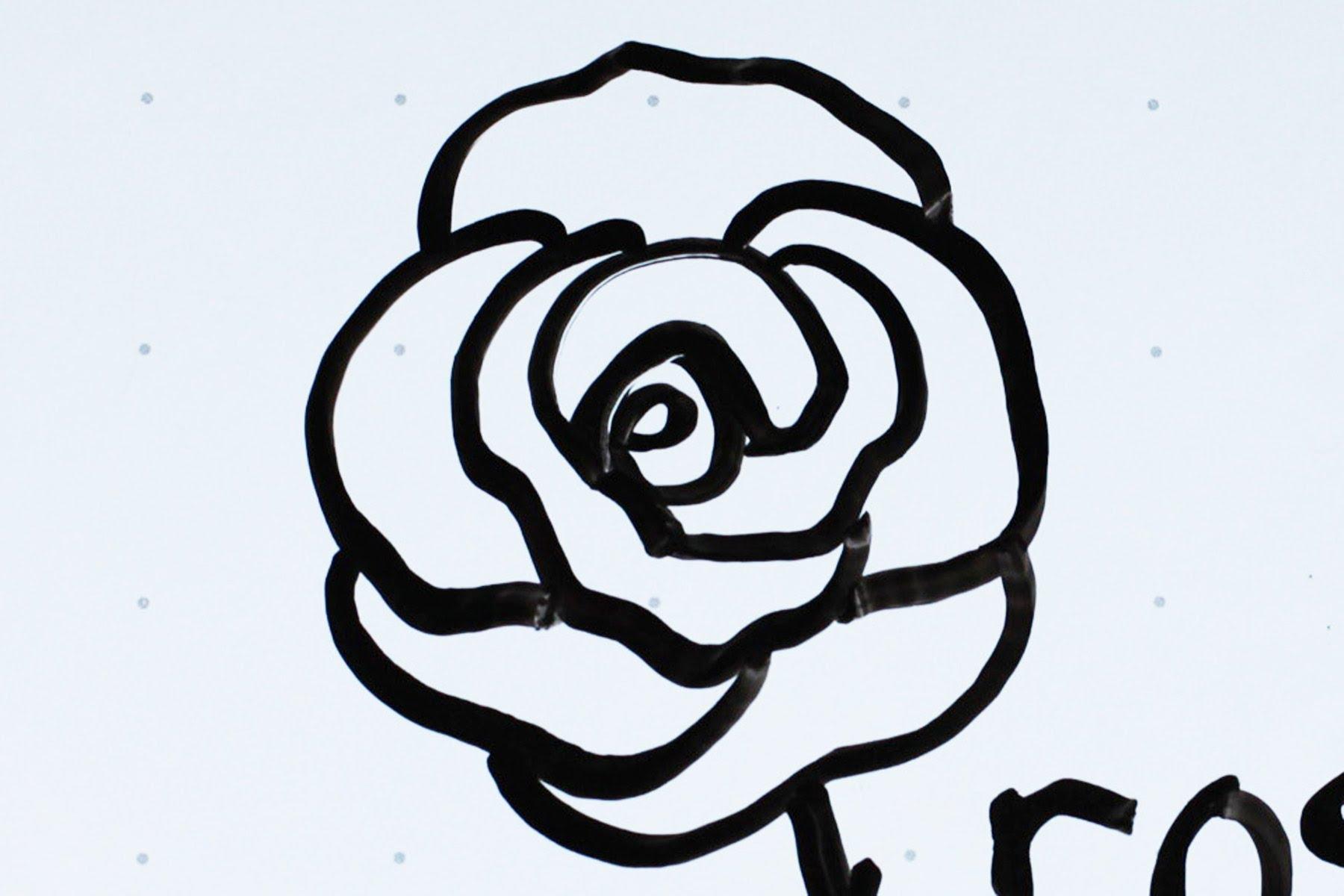 1800x1200 Rose Drawing Simple 21 Kids' Tutorial