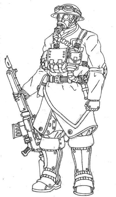 400x678 Unknown Soldier By C Dane