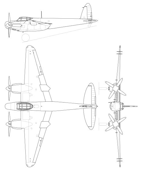 C 130 Top Diagram