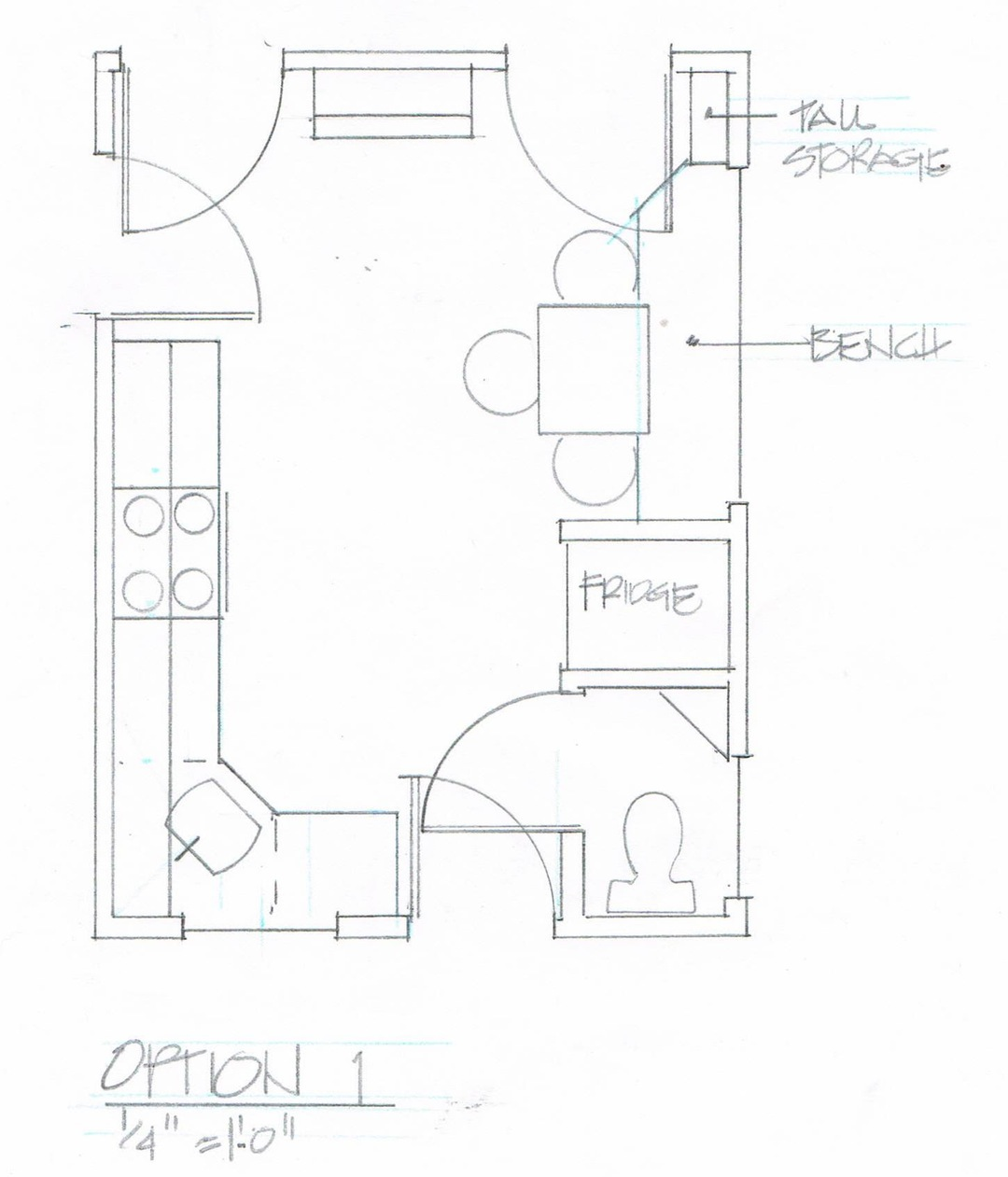 Kitchen Cabinets Cad Drawings: Cabinet Detail Drawing At GetDrawings.com