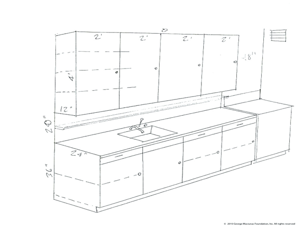 1024x768 Kitchen Cabinets Drawing Kitchen Cabinet Drawing Kitchen Cabinet