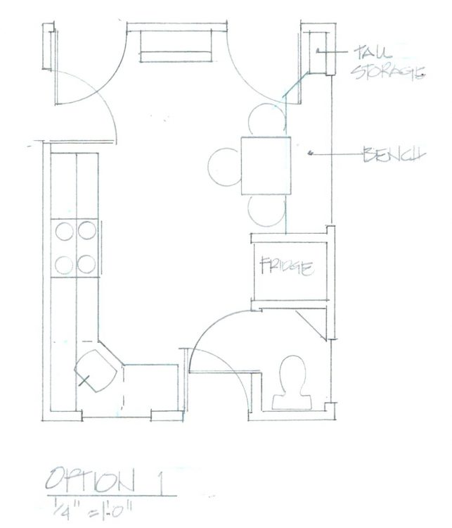 643x750 Kitchen Cabinets Hand Drawing Kitchen Cabinets Drawing Program