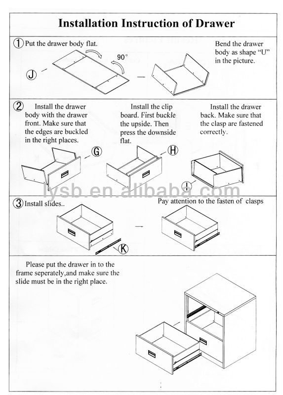 573x800 Modern Design File Hanging Vertical Metal Assemble 2 Drawer Purple
