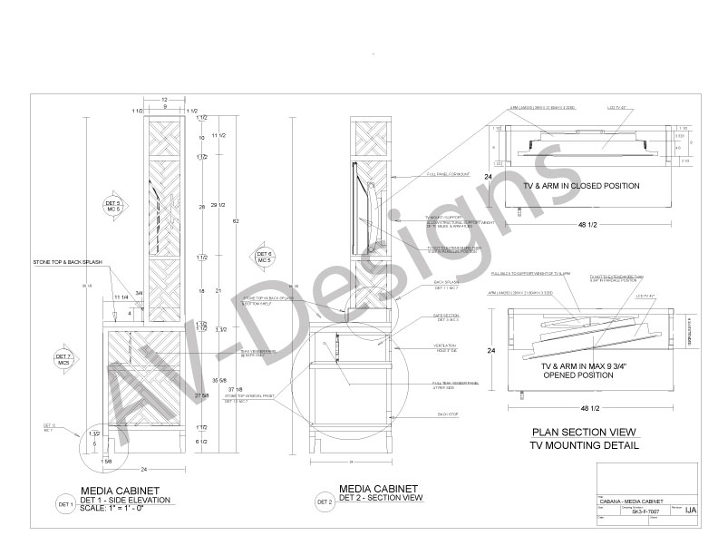 792x612 Av Designs Architectural Millwork Designs Engineering