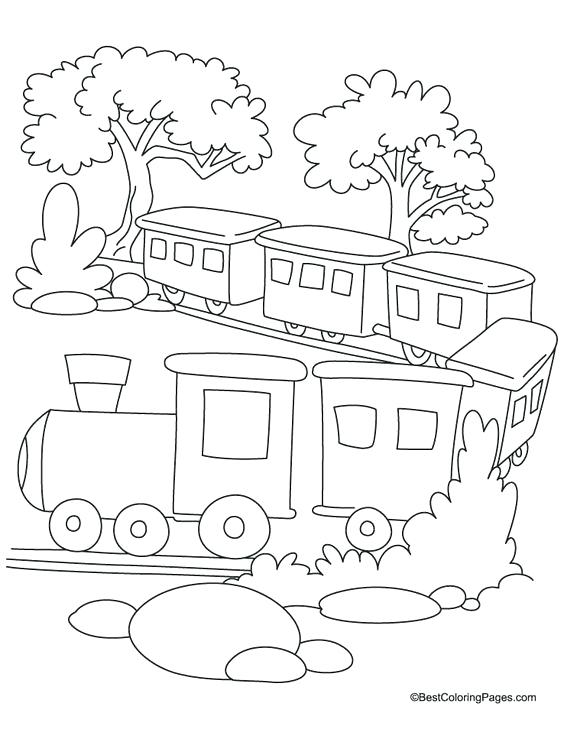564x729 Train Coloring Sheet The Train Coloring Pages Train Colouring