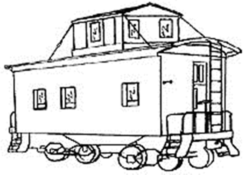 800x566 the boxcar children coloring pages children caboose color