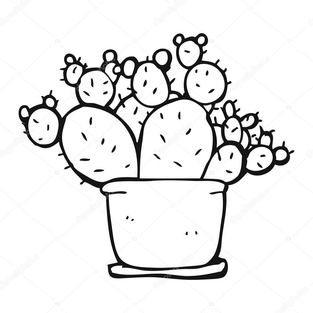 Cactus Cartoon Drawing at GetDrawings com | Free for