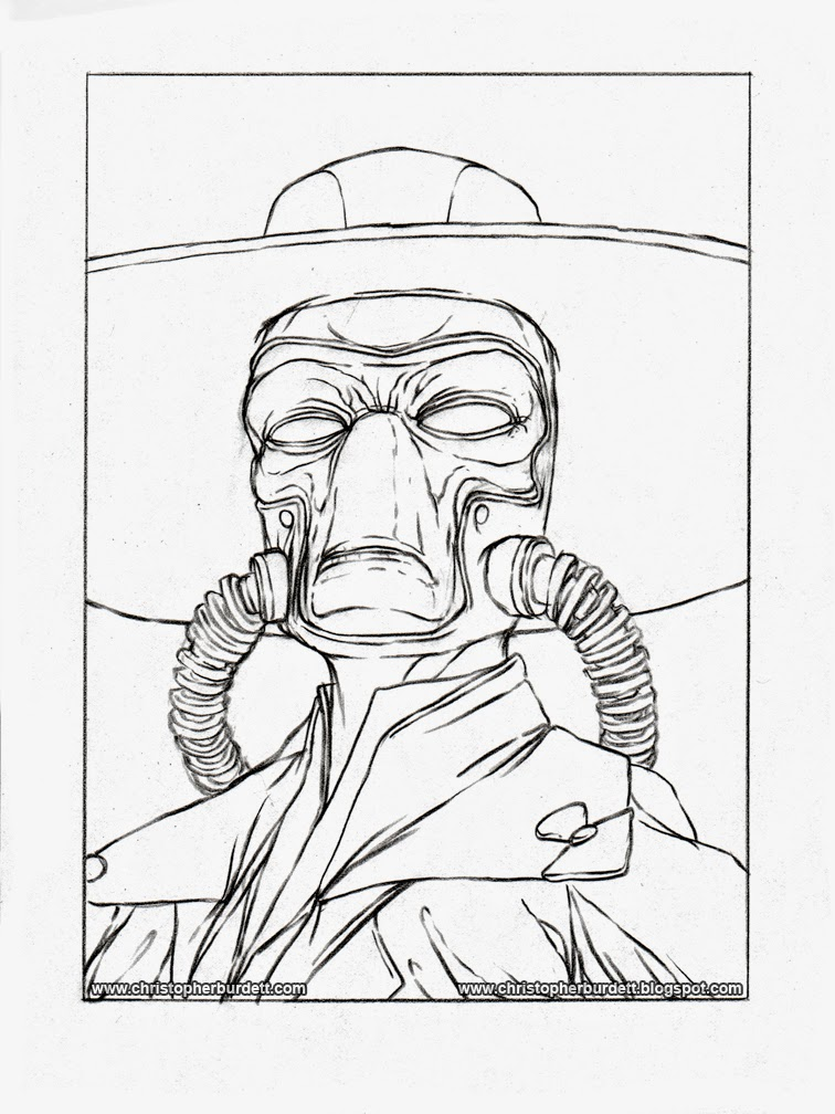 756x1008 The Doodles, Designs, And Art Of Christopher Burdett Cad Bane