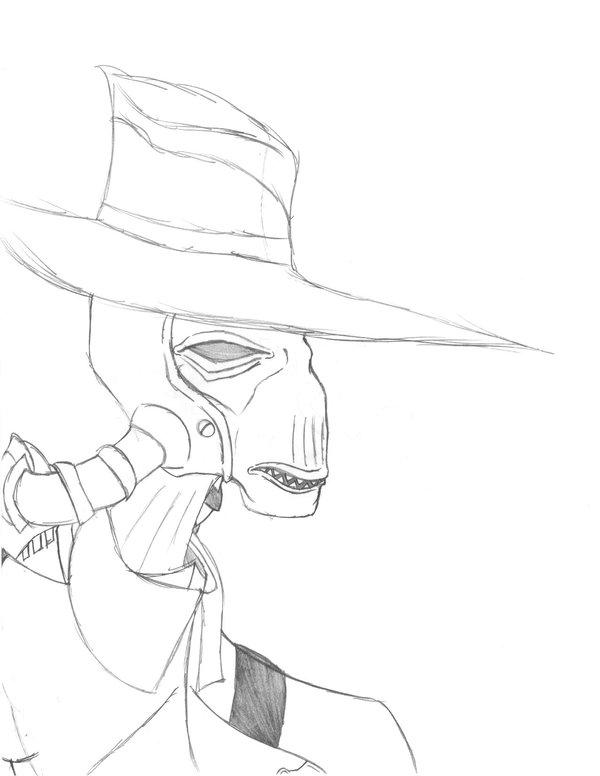 600x776 Cad Bane Bounty Hunter Of Duro By Shadowdrakkon