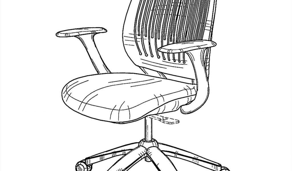 1024x600 The Images Collection Of To Exellent Office Chair Drawing Equa S