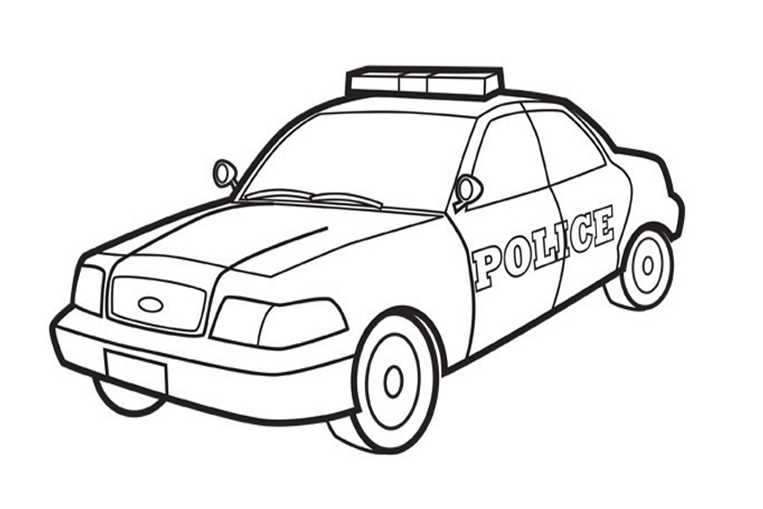 850x567 Coloring Pages Police Jeep