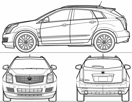 cadillac drawing at getdrawings free for personal use cadillac 2010 Cadillac SRX Spark Plugs 500x387