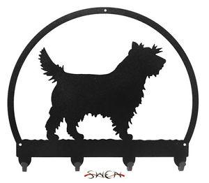 300x262 Cairn Terrier Metal Key Or Leash Hanger New Ebay