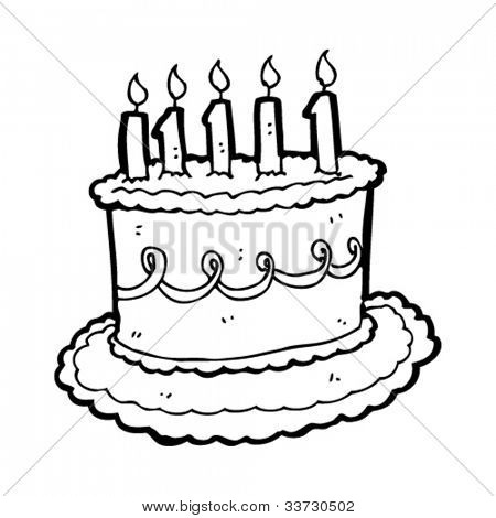 450x470 Cartoon Birthday Cake Vector Amp Photo Bigstock
