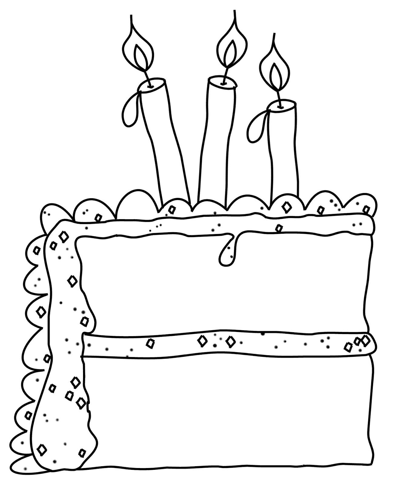 1300x1600 Slice Of Birthday Cake Drawing Birthday Cake Ideas