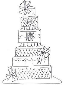 208x280 Best Cake Sketch Ideas On Cake Drawing, How
