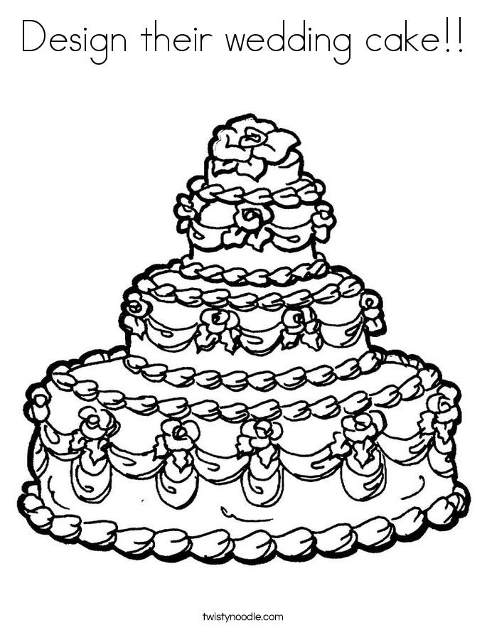 685x886 Cake Designs Drawing ~ Prezup
