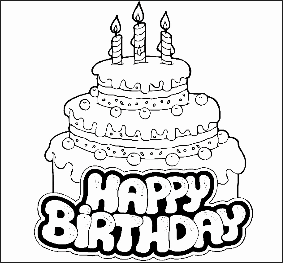 1146x1064 Drawing Pictures Of Birthday Cakes Tblkc Awesome Birthday Cake