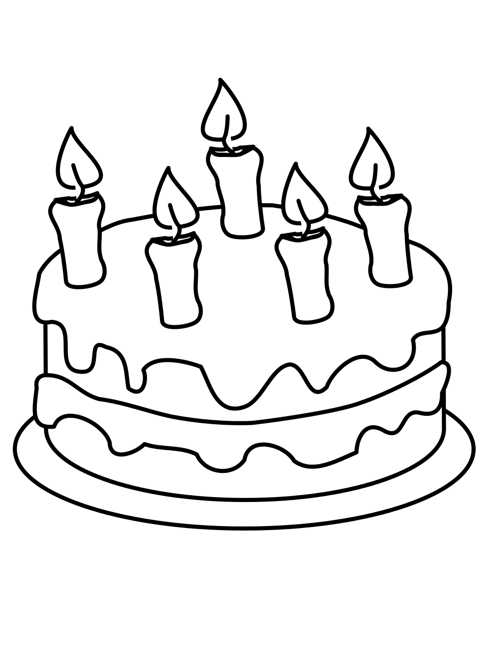 1000x1333 FileDraw this birthday cake.svg
