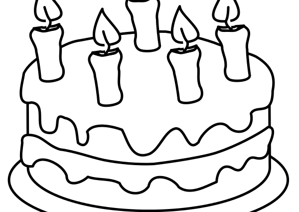 600x425 birthday cake drawing filedraw this birthday cakesvg wikimedia