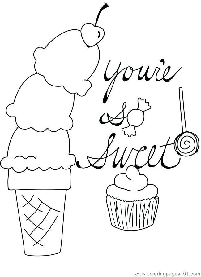 650x894 Cupcake Template To Color Original Sweet Cupcakes Drawn By Color