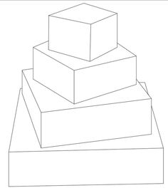 236x271 5 Tier Round Cake Template Free Downloadable Cake Templates