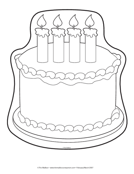 Shocking image intended for cake templates printable