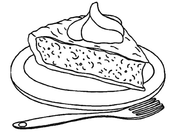 Cake Slice Drawing
