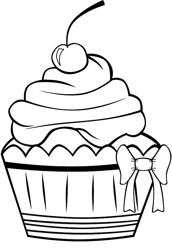 600x871 Cake Slice Coloring Page Kids Drawing And Coloring Pages