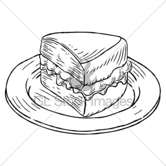 325x325 Cup Of Tea And Cake Vintage Retro Style Gl Stock Images