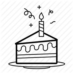 236x236 Image Result For Birthday Cake Slice Drawing 3d Inspo