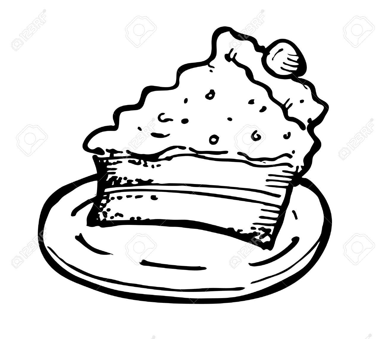 1300x1144 Tart Clipart Slice Pie