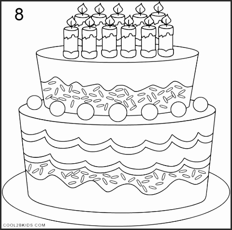 480x475 Drawing Pictures Of Birthday Cakes Snl2kwesome How To Draw