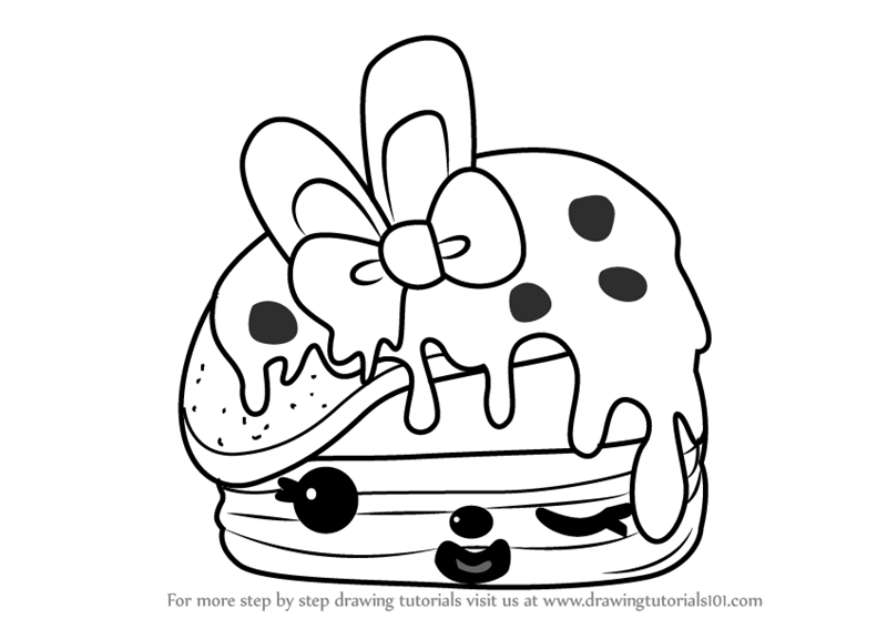 800x567 Learn How To Draw Berry Cakes From Num Noms (Num Noms) Step By