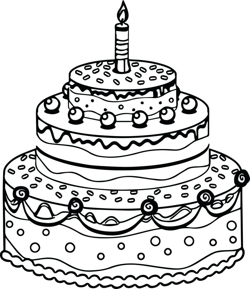 830x960 Coloring Coloring Pages Cake