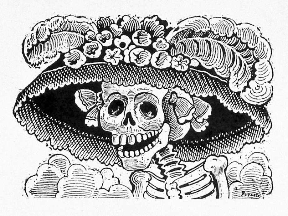 920x692 La Catrina Mexico's Grande Dame Of Death