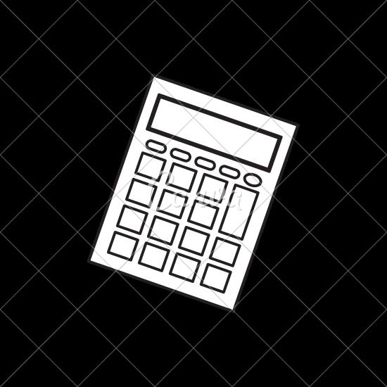 550x550 Calculator Math Device Icon
