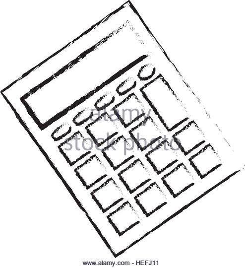 494x540 Calculator Math Device Icon Vector Stock Photos Amp Calculator Math