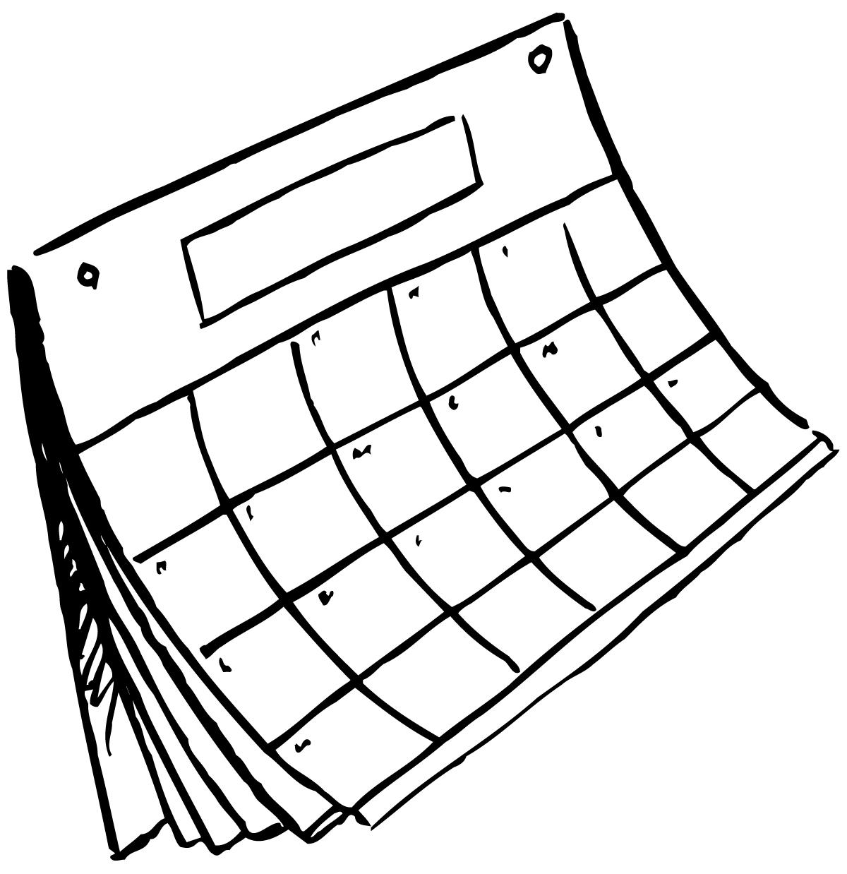 Calendar Drawing at GetDrawings Free for personal