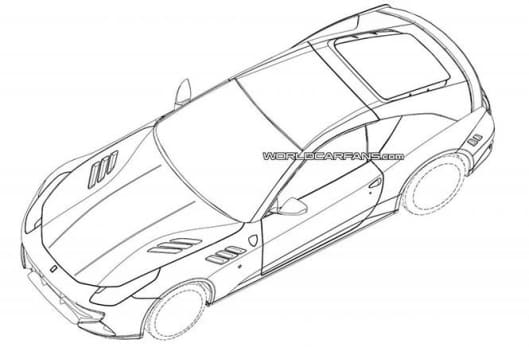 529x363 New Ferrari California Drawings Leaked