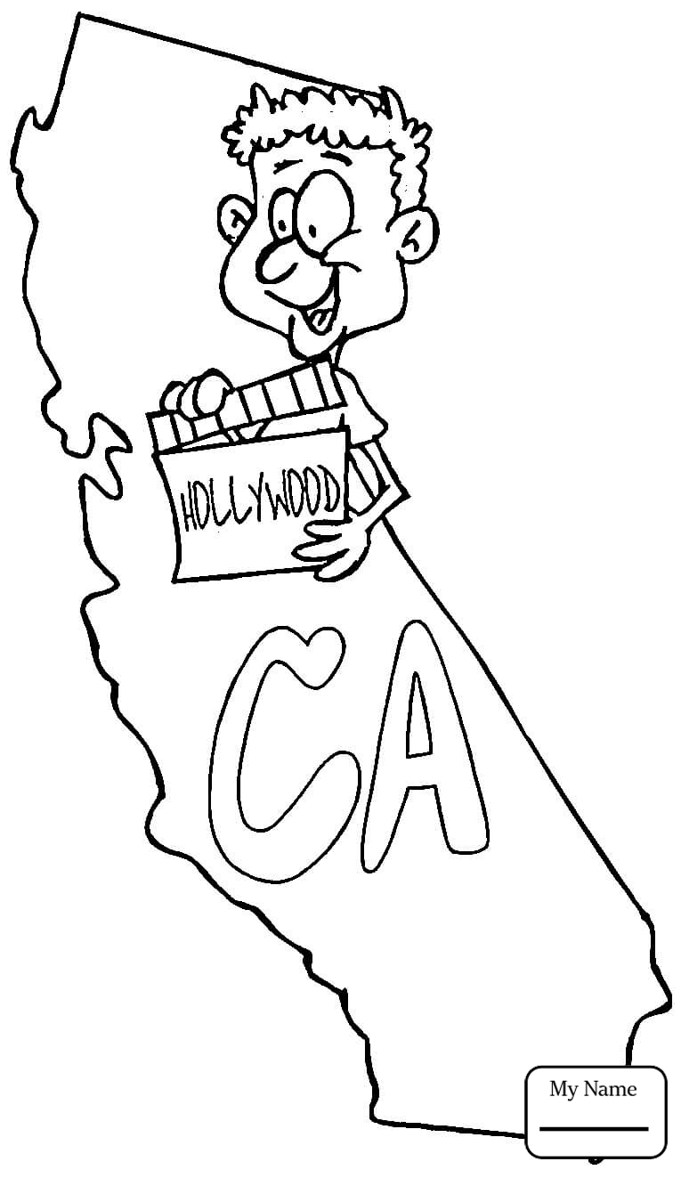 765x1323 Coloring Pages For Kids Countries Cultures California Flag