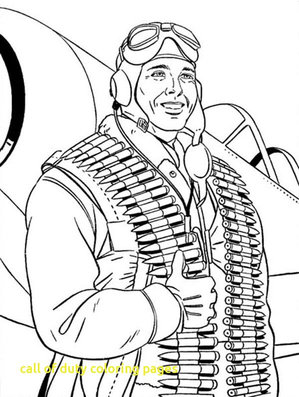 600x796 Call Of Duty Coloring Pages 26039