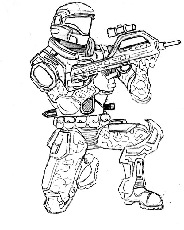 600x749 Call Of Duty Coloring Pages