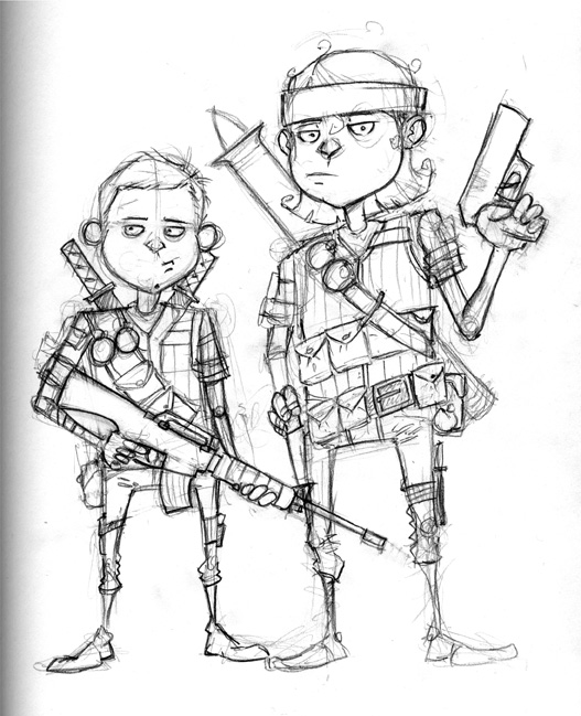 527x649 Call Of Duty Kid Ops Phillip Rauschkolb Art